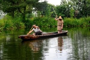 Die Mitarbeiter des Federseemuseums Bad Buchau zeigen das Leben wie es früher war. Das Fischen auf dem Federsee ist heute nicht mehr jedem gestattet.