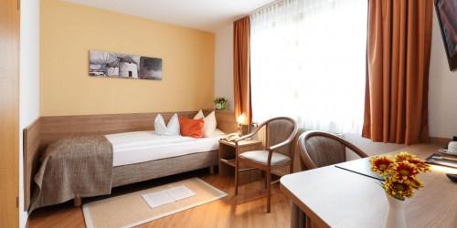 Komfort Einzelzimmer im Hotel Pension Stern